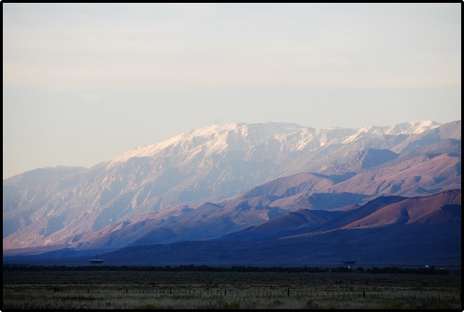 White Mountain and the high desert near Bishop California © 2013 David Coyote