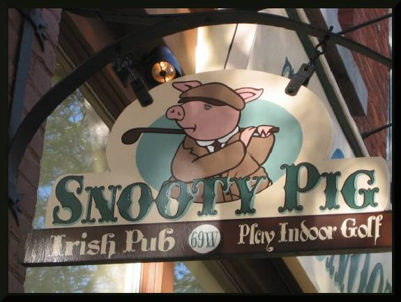 Snooty Pig Irish Pub  (c) 2004 David Coyote