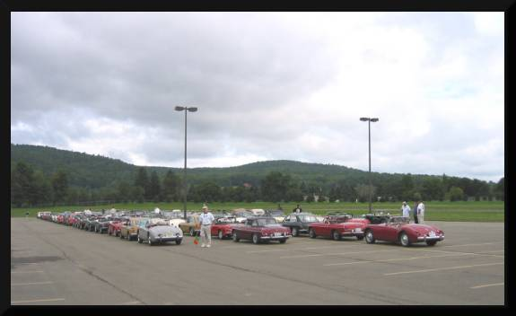 The MG turnout was the largest ever in the U.S. (c) 2004 David Coyote