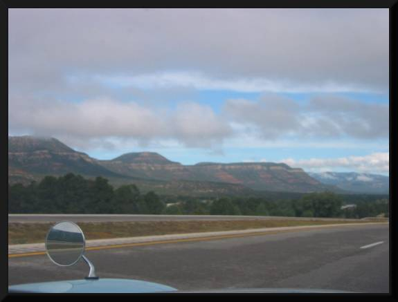Highway and Mountains (c) 2005 David Coyote