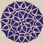 'Purple Mandala' (c) 2005 David Coyote