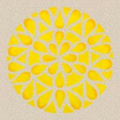 'Yellow Mandala' (c) 2005 David Coyote