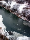 'Humber River, Christmas Day 2002 (c) 2005 David Coyote